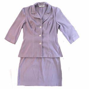 La Belle Two Piece Skirt Suit Set